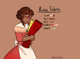 Rosa Falena - Vicboys Contest Entry by littleinksheeples