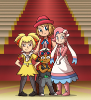 Serena's Team by ToonStarterz
