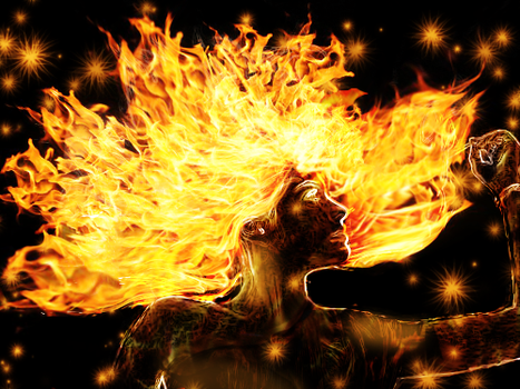 Fire in Your Hair by Akatung