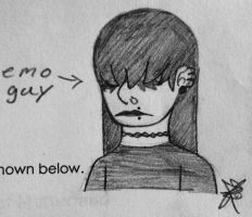 Emo... by Infinity-Drawings