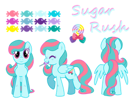Sugar Rush reference sheet by Lopoddity