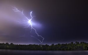 My First Lightning Pic by emoreth