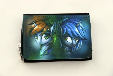 Little Pip and Homage wallet by Art-N-Prints