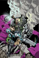 Cable by Greg Harms and Me. by RodneyCJacobsen