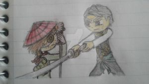 Ronin vs. Garmadon by Ninjago-7