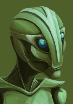 Green Robot by Muffinspider