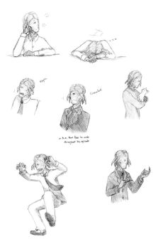 Dalek Sec doodles 2 by LittleSnaketail