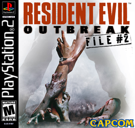Resident Evil Outbreak File #2 Jewle Case Cover by StartingAgain