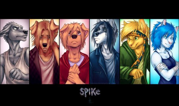 - SPIKE main characters - Wallpaper - by oomizuao
