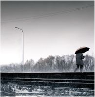 i walk between the raindrops by xciteticx