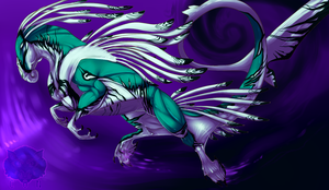 Purple whirl - painting practice by concolour
