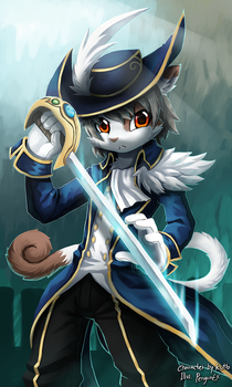 Knight Cat by PenguinEXperience