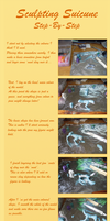 How I Sculpted Suicune - Step by Step
