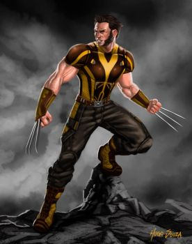 MCU Logan 2.0 MCU Wolverine - Brown Suit Design by Hugo-Souza