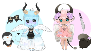 march demon adopts closed by bonechii