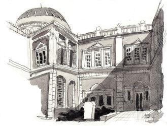 Side of Singapore National Museum (15 Mar 2014) by parka