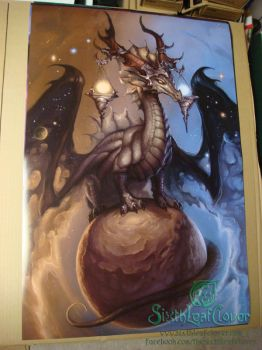 Libra Zodiac Dragon 24x36 Movie Poster Print by The-SixthLeafClover