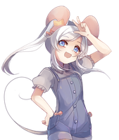 :CM: MousyMika - Halfbody Paintery by fleesveon