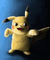 Pikachu by TryingDrawingG