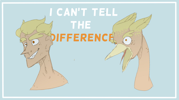 I Cant Tell The Difference by Golden-sucre