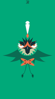 Decidueye Phone Wallpaper by TheReyMi