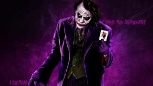 Wallpaper l Joker by DarkLaicram