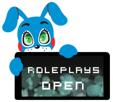 Toy Bonnie Roleplays Open Stamp by InkCartoon