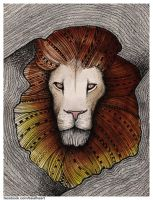 You are a king and I am a lionheart by beathaart