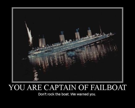 Failboat Motivational by Doodle-Dictator