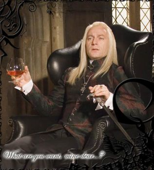 Malfoy. Lucius Malfoy. by Lily-Evans-1