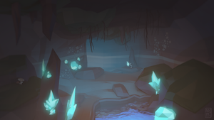 Crystal Cavern by Riftmaw