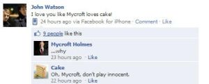 I love you like Mycroft loves cake! by Flying-With-The-Owls
