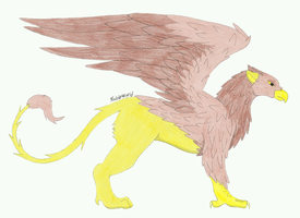 Common Griffin by fableworld
