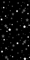 Black and White Stars Background (F2U) by DominickLuhr