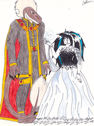 Contest Entry - King Justin and Snow Fall by The-Artist-Marine