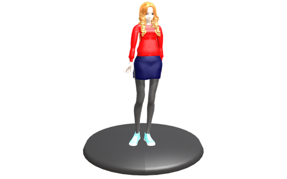 MMD - Amy Pond Figure by emmystar