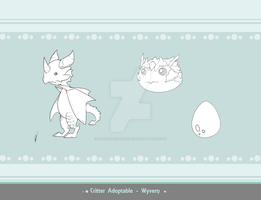 Critter Adoptable - Wyvern SOLD by Asgard-Chronicles