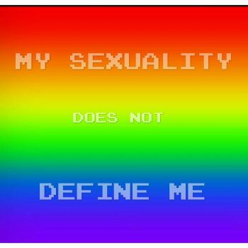 My sexuality does not define me by timeywimeystuff13