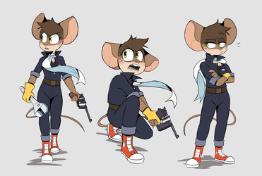 More Mags Poses by Beezii11