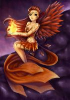 The Phoenix by Weslie