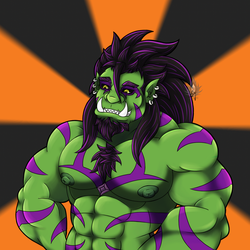 Zushi-Orc by Shadowmark-Wolf