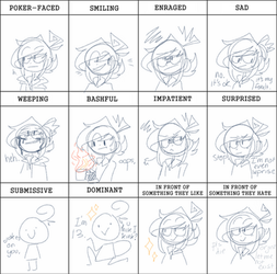 Dat expression meme by CherryMikel