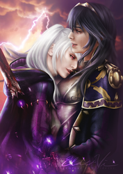 Lucina's Judgement - Lucina + Grima Robin by Eldervi
