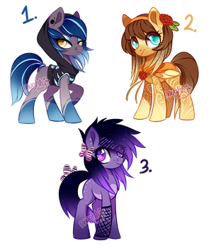 Some Pony Adopts (CLOSED) by Naughty-Savage