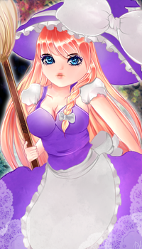 Marisa Kirisame:: The Witch by Mikriluna