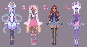 Adopt Set #12 (CLOSED) by LunaOfWater