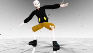 [MMD]Swapfell Papyrus Model DL by FlareDoesArt