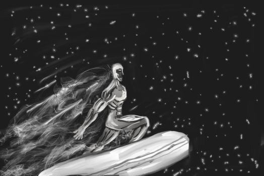 Silver Surfer by theTwistedman