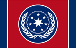 Confederation of Nations Flag by RvBOMally