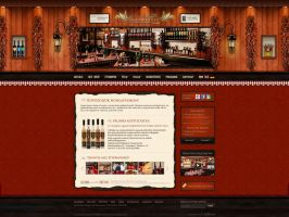 Web Design: Zsindelyes Restaurant by VictoryDesign